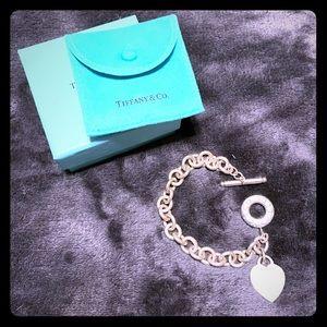 Tiffany & Co toggle heart bracelet
